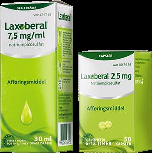 Laxoberal® dråber/kapsler